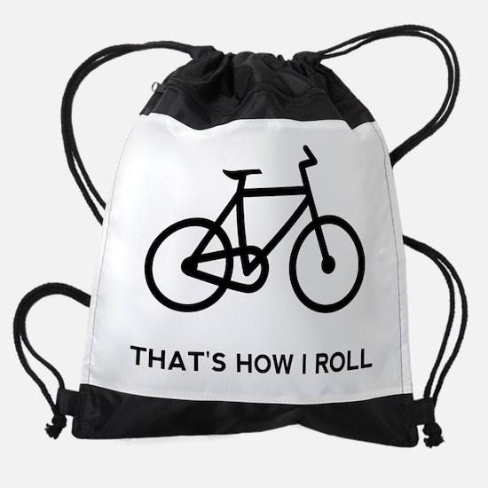Funny Bicycle Drawstring Bag