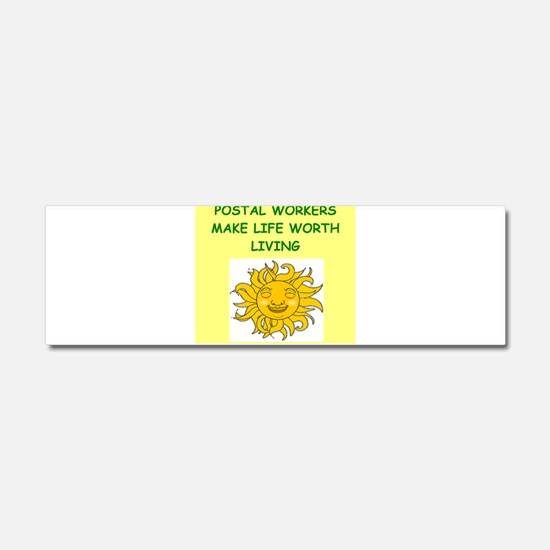 postal workers Car Magnet 10 x 3