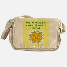 postal workers Messenger Bag
