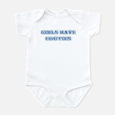 Girls Have Cooties Infant Bodysuit