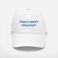 Girls Have Cooties Baseball Baseball Cap