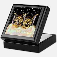 Golden Retiever Duo Keepsake Box