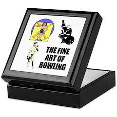 Fine Art of Bowling Keepsake Box