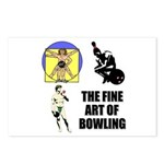 Fine Art of Bowling Postcards (Package of 8)