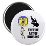 Fine Art of Bowling Magnet