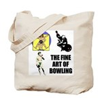 Fine Art of Bowling Tote Bag