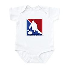 National Curling Association Infant Bodysuit