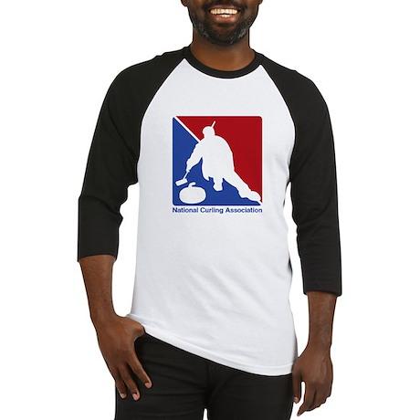 National Curling Association Baseball Jersey