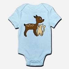 fawn_and_cat Body Suit