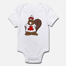 Canadian Beaver Infant Bodysuit