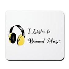 Banned Music! Mousepad
