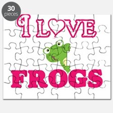 I Love Frogs Puzzle