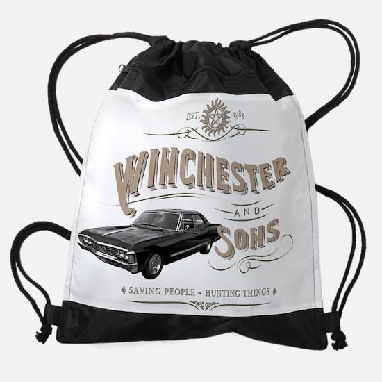 Supernatural - Winchester & Sons mu Drawstring Bag