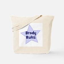 Brody Rules Tote Bag