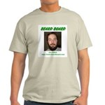 Beard Board Jim Elliott Grey T-Shirt