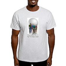 Bubble Heads Ash Grey T-Shirt