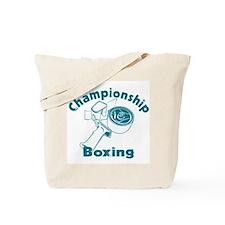 Championship Boxing Tote Bag
