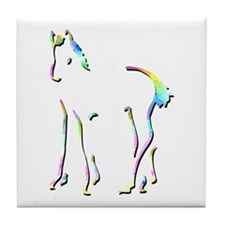 Foal Imprinting Picture Tile Coaster