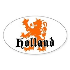 Holland Oval Decal