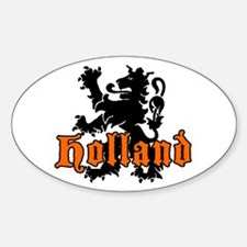 Holland Oval Stickers