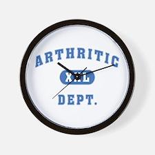 Arthritic Dept. Wall Clock