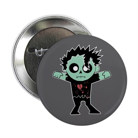 """Fashion Zombie 2.25"""" Button (10 pack)"""