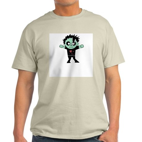 Fashion Zombie Ash Grey T-Shirt