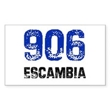 906 Rectangle Decal