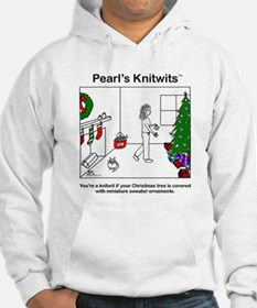 Pearl with Sweater Ornaments Hoodie