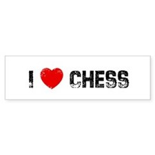 I * Chess Bumper Bumper Sticker