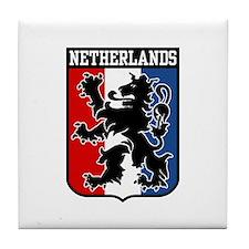 Netherlands Tile Coaster