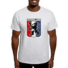 Netherlands Ash Grey T-Shirt