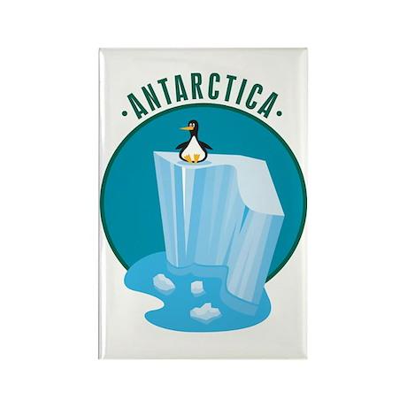 Antartica Rectangle Magnet