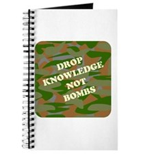 """Drop Knowledge Not Bombs"" Journal"