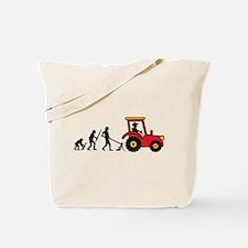 tractor_evolution Tote Bag