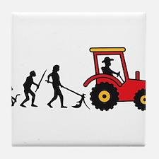 tractor_evolution Tile Coaster