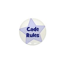 Cade Rules Mini Button (10 pack)