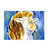 Lion and lamb Postcards