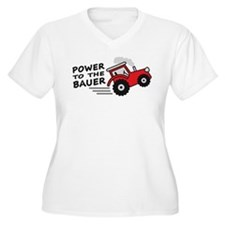 power_to_the_bauer Plus Size T-Shirt