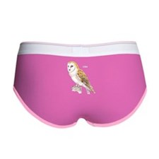 Barn Owl Bird Women's Boy Brief