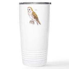 Barn Owl Bird Travel Mug