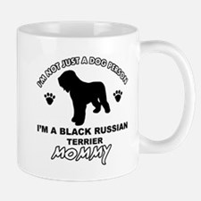 Black Russian Terrier Mommy Vector designs Mug