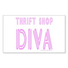 THRIFT SHOP DIVA Decal