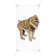 Mandrill Monkey Ape Banner