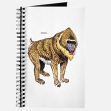 Mandrill Monkey Ape Journal