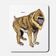 Mandrill Monkey Ape Mousepad