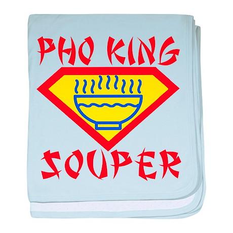 Pho King Souper baby blanket