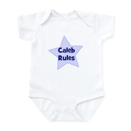 Caleb Rules Infant Bodysuit