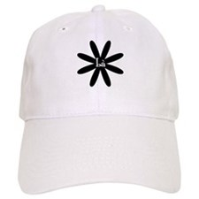 GRANDMOTHER Flower Baseball Cap