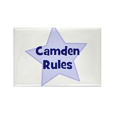Camden Rules Rectangle Magnet